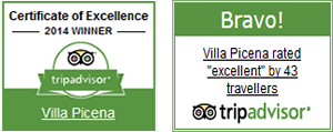 Villa Picena - Structure of excellence on TripAdvisor